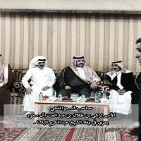 صاحب السمو الملكي الأمير تركي بن طلال يعزي في وفاة الشيخ عبدالكريم الباشا.
