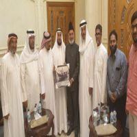 مدير الجامعة الإسلامية في كيرالا يلتقي شمعه الكويت