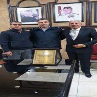تكريم عطوفة المقدم عبد الكريم  عاطف القاضي الخالدي من اعضاء مجلس