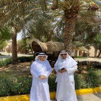 #قام المهندس #عبدالرحمن بن عبدالعزيز الفاضل مدير مصفاة أرامكو #السعودية بالرياض   بزيارة للوجيه م. #محمد بن سعد البواردي
