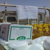 #شمعة الكويت #قدمت اليوم مساعدات #غذائية علي اكثر من ١٠٠ اسره في مخيم ارقبان
